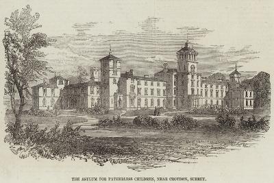 The Asylum for Fatherless Children, Near Croydon, Surrey--Giclee Print