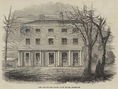 The Asylum for Idiots, Park House, Highgate--Giclee Print