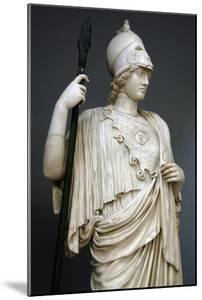 The Athena Giustiniani. Roman Copy of a Greek Statue of Pallas Athena. 2nd Century. Detail