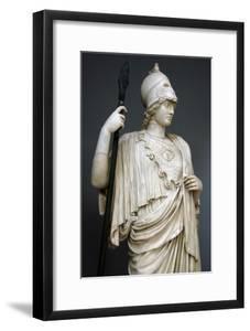 The Athena Giustiniani. Roman Copy of a Greek Statue of Pallas Athena. 2nd Century. Detail