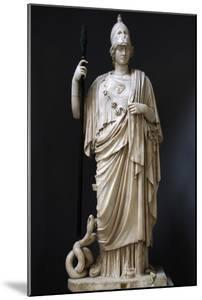 The Athena Giustiniani. Roman Copy of a Greek Statue of Pallas Athena. 2nd Century