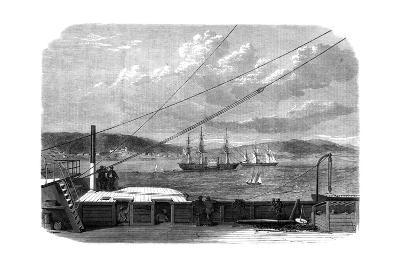 The Atlantic Telegraph Expedition, Content Bay, Newfoundland, 1866--Giclee Print
