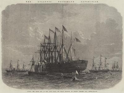The Atlantic Telegraph Expedition--Giclee Print