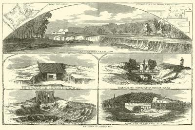 The Attack on Arkansas Post, January 1863--Giclee Print