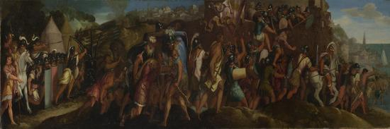 The Attack on Cartagena, after 1566-Giulio Licinio-Giclee Print