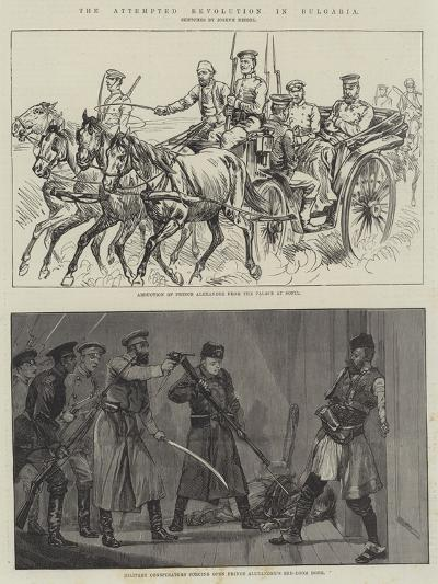 The Attempted Revolution in Bulgaria--Giclee Print