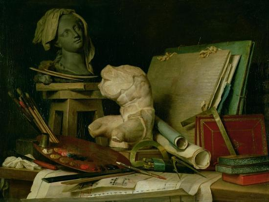 The Attributes of the Arts, 1769-Anne Vallayer-coster-Giclee Print