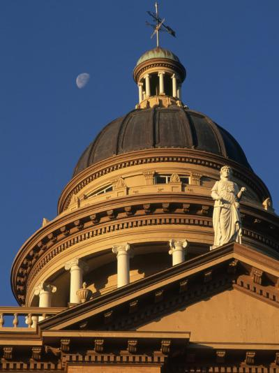 The Auburn, California Courthouse Gleams in Early Morning Sun-Phil Schermeister-Photographic Print