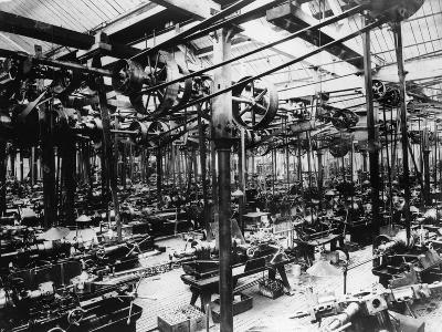 The Austin Car Factory at Longbridge, Birmingham, 1913--Photographic Print