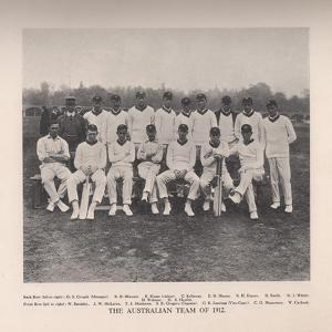 The Australian Cricket Team of 1912