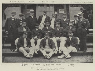 The Australian Cricket Team--Giclee Print