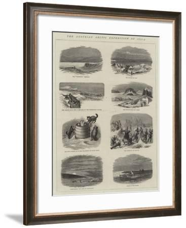 The Austrian Arctic Expedition of 1872-4--Framed Giclee Print