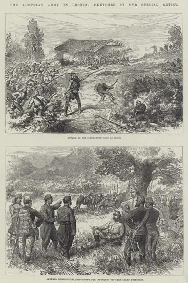 The Austrian Army in Bosnia--Giclee Print