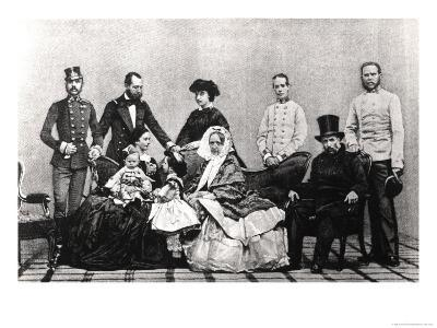 The Austrian Imperial Family, 1860--Giclee Print