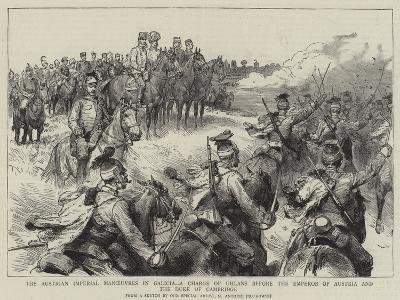 The Austrian Imperial Manoeuvres in Galicia-Maksymiljan Antoni Piotrowski-Giclee Print