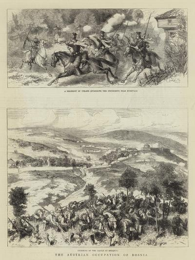 The Austrian Occupation of Bosnia-Godefroy Durand-Giclee Print