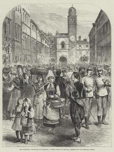 The Austrian Provinces of Dalmatia, Street Scene in Ragusa