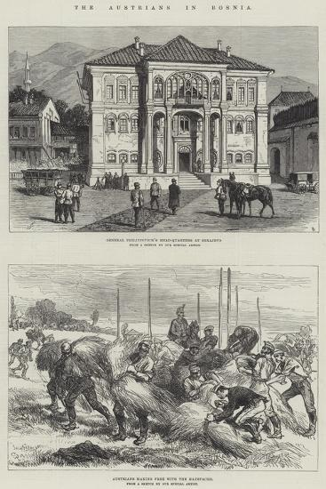 The Austrians in Bosnia-Charles Robinson-Giclee Print
