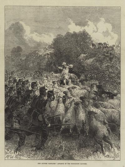 The Autumn Campaign, Advance of the Connaught Rangers--Giclee Print