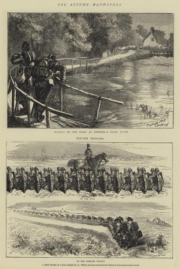 The Autumn Manoeuvres-Sydney Prior Hall-Giclee Print