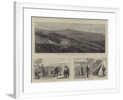 The Autumn Manoeuvres--Framed Giclee Print