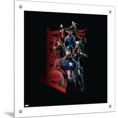 The Avengers: Age of Ultron - Captain America, Hulk, Iron Man, Black Widow, Vision, Hawkeye, Thor