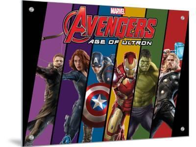The Avengers: Age of Ultron - Hawkeye, Black Widow, Captain America, Iron Man, Hulk, and Thor
