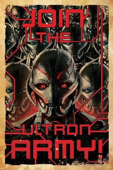 The Avengers: Age of Ultron - Join the Ultron Army--Poster
