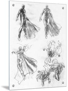 The Avengers: Age of Ultron - Vision Character Studies and Sketches