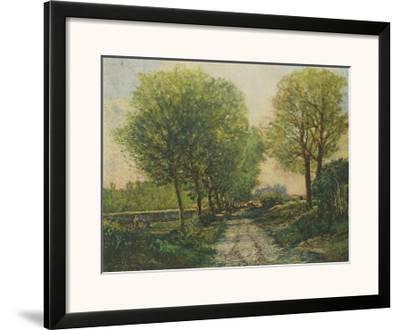 The Avenue-Alfred Sisley-Framed Art Print