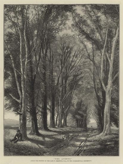 The Avenue-Thomas Creswick-Giclee Print