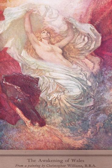The Awakening of Wales, c.1915-Christopher Williams-Giclee Print