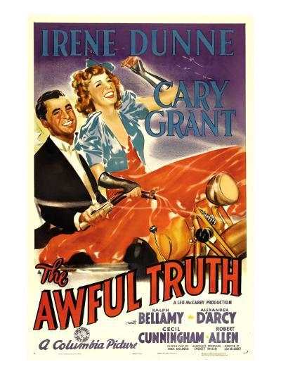 The Awful Truth, Cary Grant, Irene Dunne, 1937--Photo