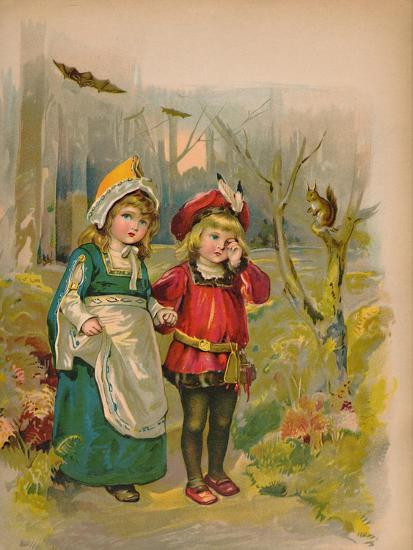 'The Babes in the Wood', 1903-Unknown-Giclee Print