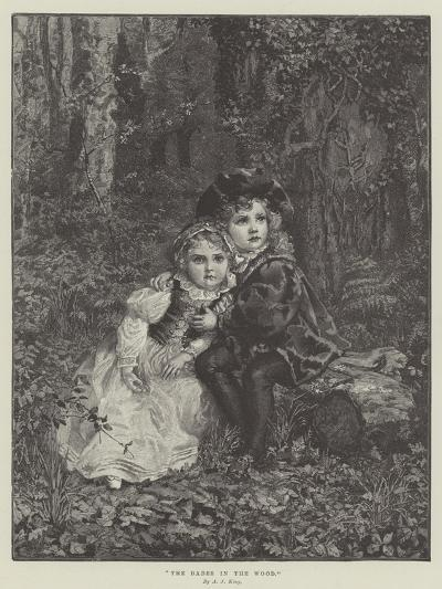 The Babes in the Wood--Giclee Print