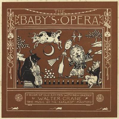 The Baby's Opera-Walter Crane-Giclee Print