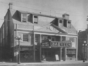 The Babylon Theatre, Babylon, New York, 1925