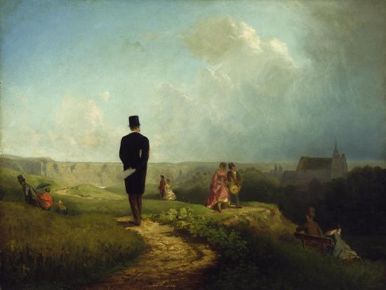 The Bachelor-Carl Spitzweg-Giclee Print