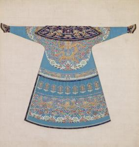 The Back of a Summer Court Robe Worn by the Emperor, China