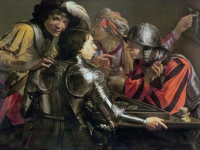 The Backgammon Players-Hendrick Terbrugghen-Giclee Print