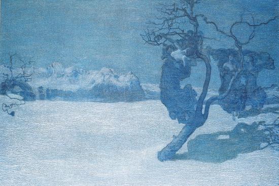 The Bad Mothers, 1894-Giovanni Segantini-Giclee Print