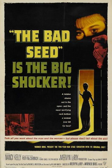 The Bad Seed, 1956, Directed by Mervyn Leroy--Giclee Print