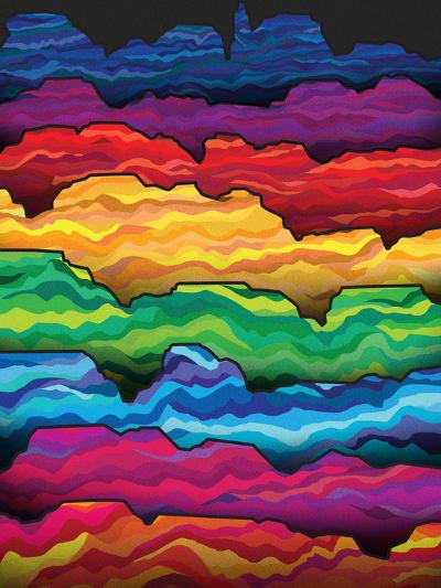 The Badlands-Joe Van Wetering-Art Print