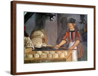 The Baker--Framed Giclee Print