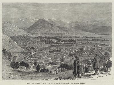 The Bala Hissar and City of Cabul, from the Upper Part of the Citadel-Thomas Harrington Wilson-Giclee Print