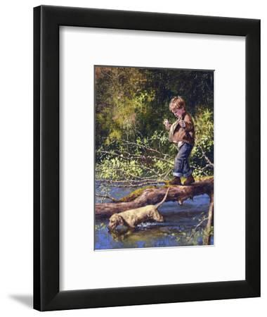 The Balancing Act-Jim Daly-Framed Art Print
