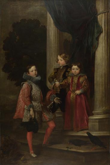 The Balbi Children, C. 1626-Sir Anthony Van Dyck-Giclee Print