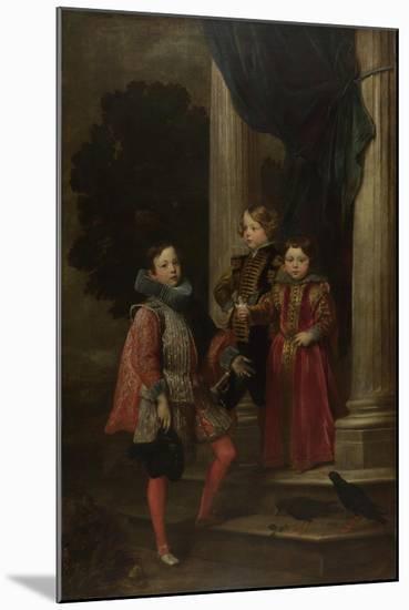 The Balbi Children, C. 1626-Sir Anthony Van Dyck-Mounted Giclee Print