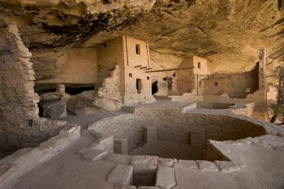 The Balcony House in Mesa Verde National Park-Phil Schermeister-Photographic Print