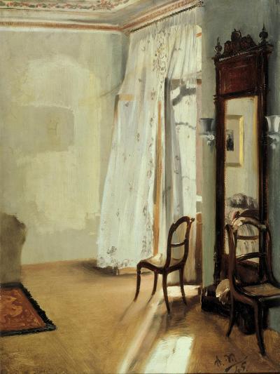 The Balcony Room, 1845-Adolph Friedrich von Menzel-Giclee Print